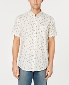 Levi's® Men's Slim-Fit Tropical Drawings Shirt
