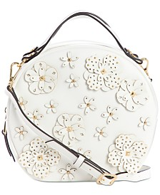 Nine West Devonna Circle Floral Applique Crossbody