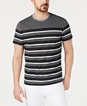 edd92396 Alfani Men's Striped T-Shirt, Created for Macy's