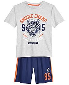 Big Boys 2-Pc. Snooze Champ Pajama Set