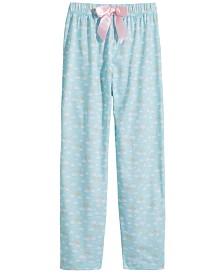 Max & Olivia Big Girls Printed Pajama Pants, Created for Macy's