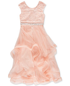 Speechless Big Girls Sequin Lace Dress
