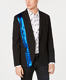 I.N.C. Men's Slim-Fit Pinstriped Pieced Blazer, Created for Macy's