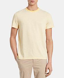 Calvin Klein Men's Feeder Striped Pima Cotton T-Shirt