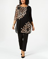 069a50eec3e2d Plus Size Tunic Tops  Shop Plus Size Tunic Tops - Macy s