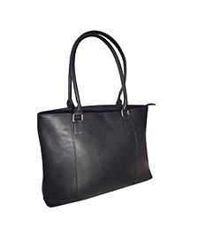"Royce 15"" Laptop Women's Tote Bag in Colombian Genuine Leather"