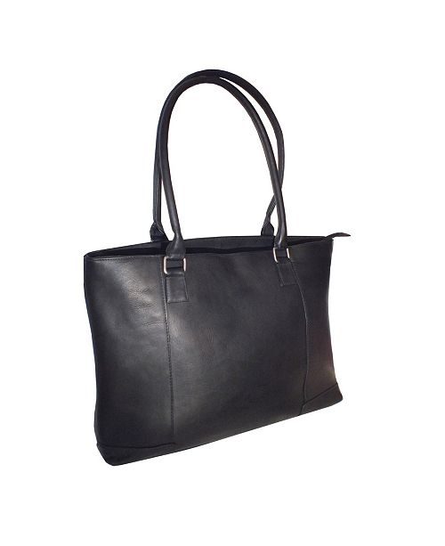 """Royce Leather Royce 15"""" Laptop Women's Tote Bag in Colombian Genuine Leather"""