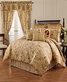 Imperial Dress Porcelain 4pc Queen Comforter Set