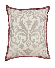 Waverly Fresco Flourish Embroidered Decorative Pillow