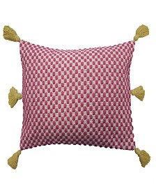 Key of Life Woven 14x20 Decorative Pillow