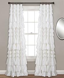 "Kemmy Ruffle 52"" x 84"" Curtain Panel"