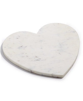 Marble Heart Board, Created For Macy's by Martha Stewart Collection