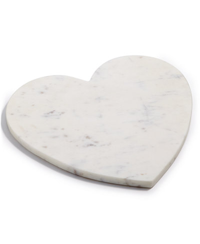 Martha Stewart Collection Marble Heart Board, Created for Macy's