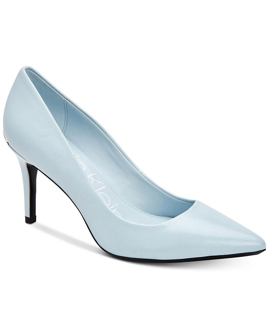 c03ba0850 Calvin Klein Women s Gayle Pointed-Toe Pumps   Reviews - Pumps - Shoes -  Macy s