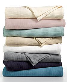 Lauren Ralph Lauren Luxury Ringspun 100% Cotton Blankets
