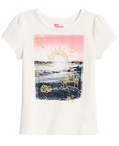 Epic Threads Sunset Graphic T-Shirt, Created for Macy's