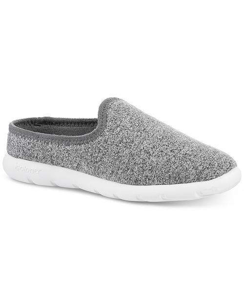 Isotoner Signature Zenz from Isotoner Women's Heather Knit Low Back Slip-On