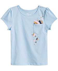 Epic Threads Toddler Girls Heart Pocket T-Shirt, Created for Macy's