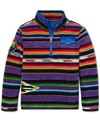 23f6736ed2a0 Polo Ralph Lauren Little Boys Half-Zip Fleece Pullover   Reviews -  Sweatshirts   Hoodies - Kids - Macy s