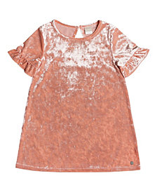 Roxy Little Girls Sea Oxygen Velvet Dress
