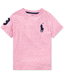 Polo Ralph Lauren Little Boys Big Pony Cotton T-Shirt