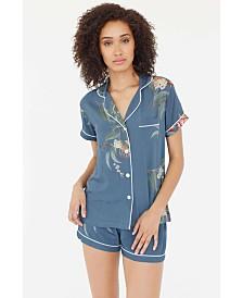 Plum Pretty Sugar Classic Shortie Pajama Set