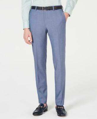 HUGO Men's Slim-Fit Pin-Dot Pants