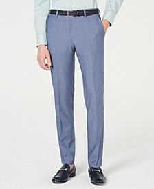 HUGO Men's Slim-Fit Pin-Dot Pants