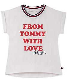 Tommy Hilfiger Big Girls Graphic-Print T-Shirt