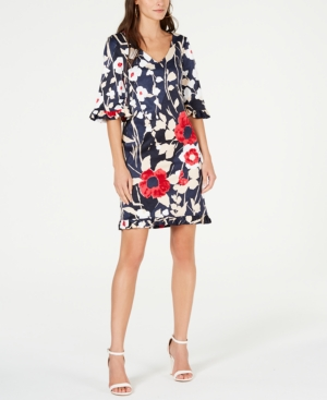 Trina Turk  LOUNGE FLORAL-PRINT SHEATH DRESS