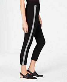 Eileen Fisher Side-Stripe Slim Pants
