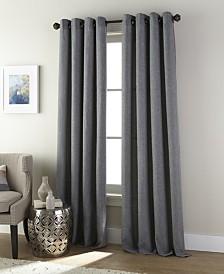 "Ephron Grommet Single Curtain Panel, Ivory, 54 x 84"""