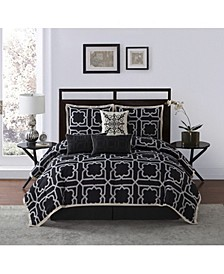 Calais 7-Piece Queen Comforter Set