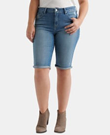 Lucky Brand Plus Size Ginger Bermuda Shorts