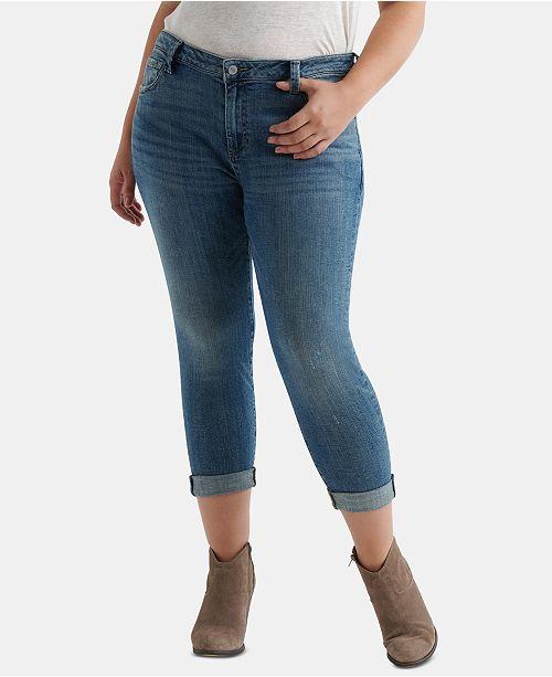 2b72a759008 Lucky Brand Plus Size Reese Boyfriend Jeans   Reviews - Pants ...