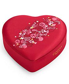 Godiva 14-Pc. Chocolates Fabric Heart