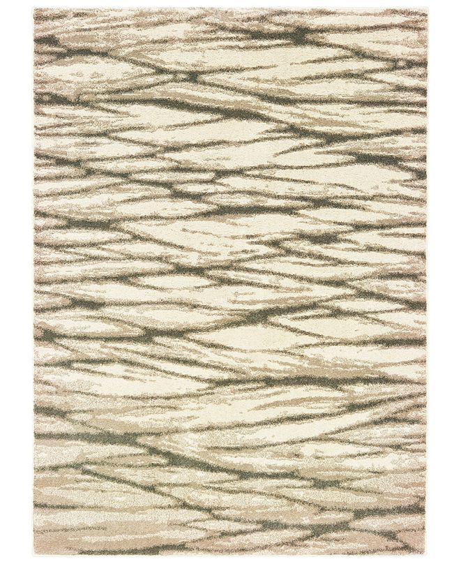 "Oriental Weavers Carson 9671C Ivory/Sand 5'3"" x 7'3"" Area Rug"