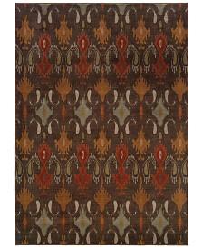 """CLOSEOUT! Oriental Weavers  Casablanca 4447A Mink/Multi 3'10"""" x 5'5"""" Area Rug"""