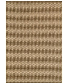 "CLOSEOUT! Oriental Weavers  Santa Rosa 4925N Brown/Sand 3'3"" x 5' Indoor/Outdoor Area Rug"