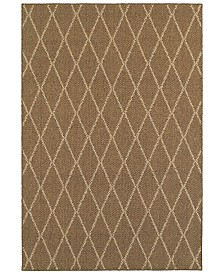 "CLOSEOUT! Oriental Weavers  Santa Rosa 090 9'10"" x 12'10"" Indoor/Outdoor Area Rug"