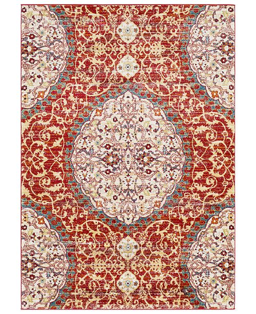 Surya Serapi SRP-1021 Dark Red 2' x 3' Area Rug