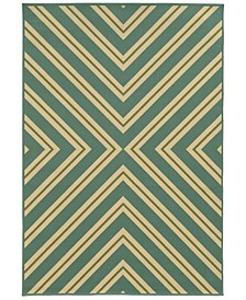 "Riviera 4589 7'10"" x 10'10"" Indoor/Outdoor Area Rug"