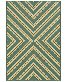 "Oriental Weavers Riviera 4589 2'5"" x 4'5"" Indoor/Outdoor Area Rug"