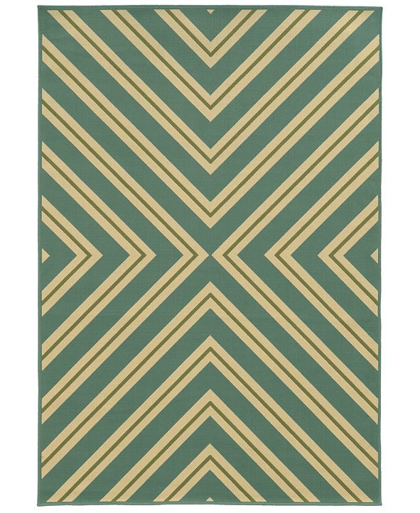 "Oriental Weavers Riviera 4589 5'3"" x 7'6"" Indoor/Outdoor Area Rug"
