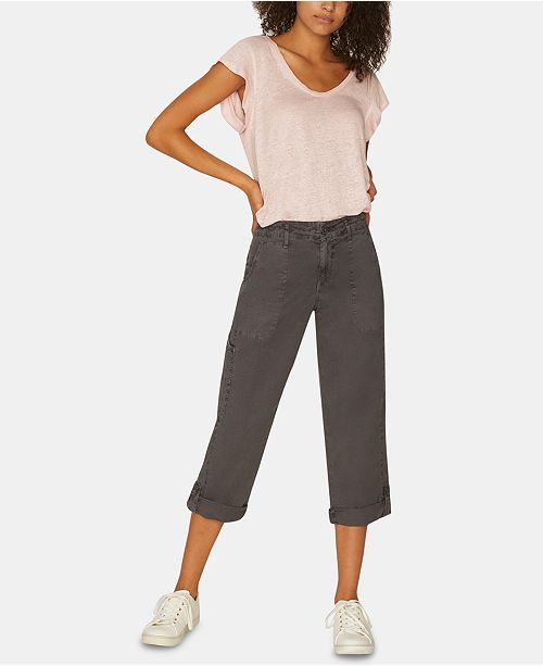 Sanctuary Explorer Pocket Capri Pants