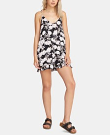 Volcom Juniors' That Was Fun Printed Romper