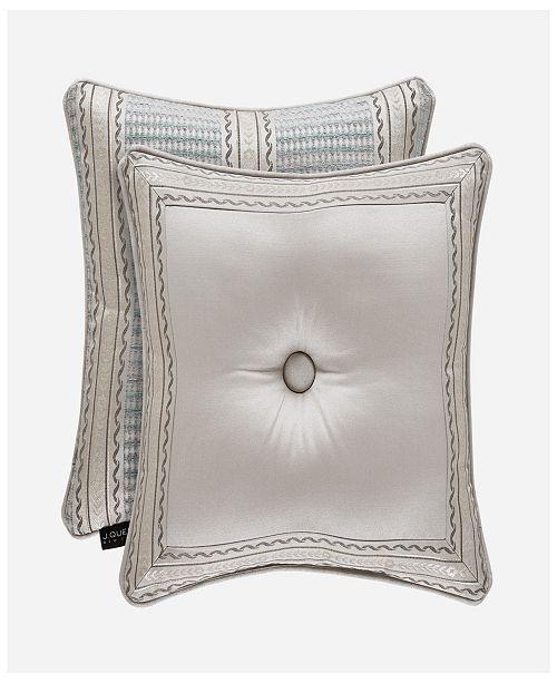 "J Queen New York J Queen Dimitri 18"" Square Decorative Pillow"