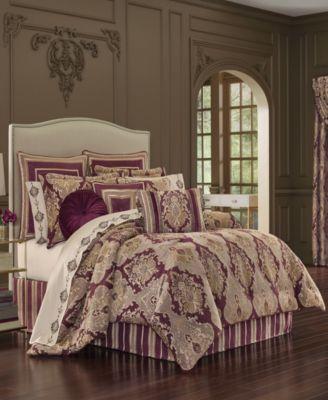 J Queen Amethyst Queen Comforter Set