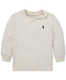 Polo Ralph Lauren Baby Boys Long-Sleeve Cotton T-Shirt