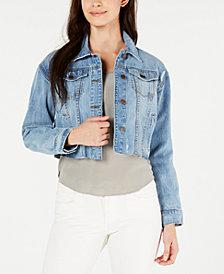 STS Blue Miley Cotton Cropped Denim Jacket